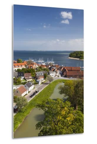 Denmark, Zealand, Vordingborg, Elevated Town View-Walter Bibikow-Metal Print