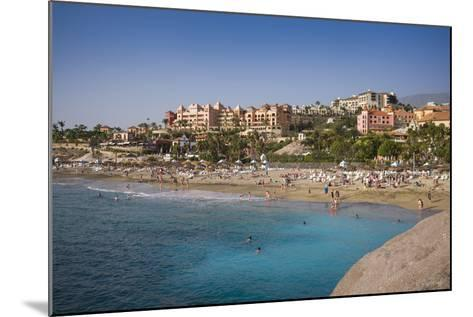 Spain, Canary Islands, Tenerife, Costa Adeje, Playa Del Duque, Elevated View-Walter Bibikow-Mounted Photographic Print