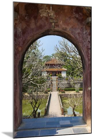 Vietnam, Hue. Tomb Complex of Emperor Minh Mang-Walter Bibikow-Mounted Photographic Print