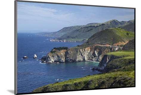 California Central Coast, Big Sur, Pacific Coast Highway, Viewed from Hurricane Point-David Wall-Mounted Photographic Print