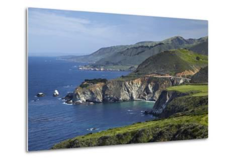 California Central Coast, Big Sur, Pacific Coast Highway, Viewed from Hurricane Point-David Wall-Metal Print