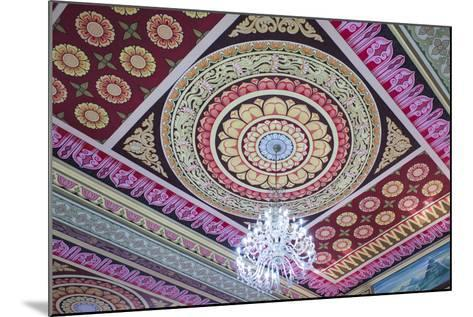 Singapore, East Singapore, Mangala Vihara Buddhist Temple, Ceiling-Walter Bibikow-Mounted Photographic Print