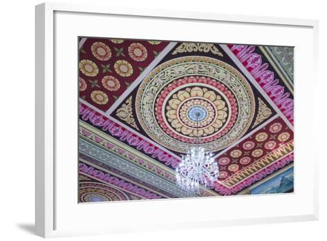 Singapore, East Singapore, Mangala Vihara Buddhist Temple, Ceiling-Walter Bibikow-Framed Art Print