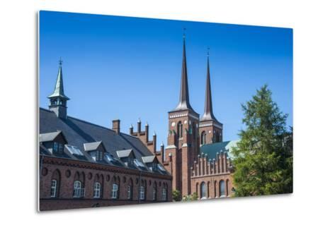 Unesco World Heritage Site the Cathedral of Roskilde, Denmark-Michael Runkel-Metal Print