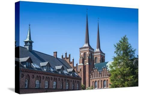 Unesco World Heritage Site the Cathedral of Roskilde, Denmark-Michael Runkel-Stretched Canvas Print