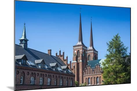 Unesco World Heritage Site the Cathedral of Roskilde, Denmark-Michael Runkel-Mounted Photographic Print
