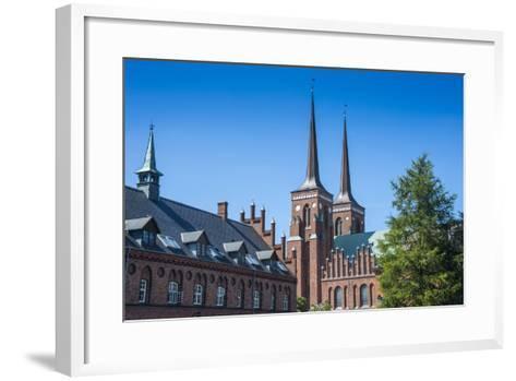 Unesco World Heritage Site the Cathedral of Roskilde, Denmark-Michael Runkel-Framed Art Print