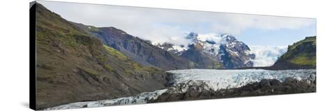 Iceland. Majestic Glaciers Panoramic, Skaftafell National Park-Bill Bachmann-Stretched Canvas Print