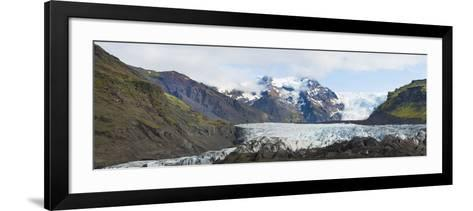 Iceland. Majestic Glaciers Panoramic, Skaftafell National Park-Bill Bachmann-Framed Art Print