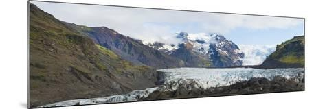 Iceland. Majestic Glaciers Panoramic, Skaftafell National Park-Bill Bachmann-Mounted Photographic Print