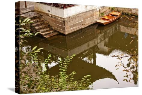 Garden of the Humble Administrator, Jiangsu-William Perry-Stretched Canvas Print