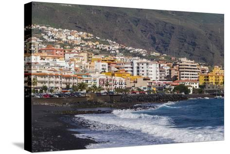 Spain, Canary Islands, Tenerife, Candelaria, Town View-Walter Bibikow-Stretched Canvas Print