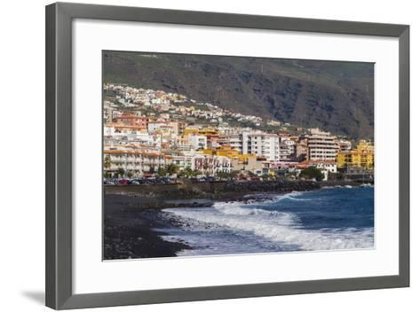 Spain, Canary Islands, Tenerife, Candelaria, Town View-Walter Bibikow-Framed Art Print