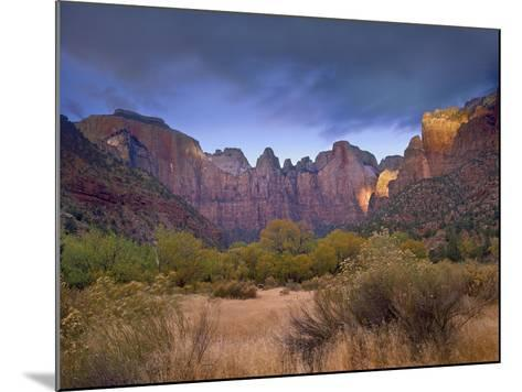 Towers of the Virgin, Zion National Park, Utah-Tim Fitzharris-Mounted Photographic Print