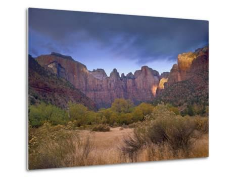 Towers of the Virgin, Zion National Park, Utah-Tim Fitzharris-Metal Print