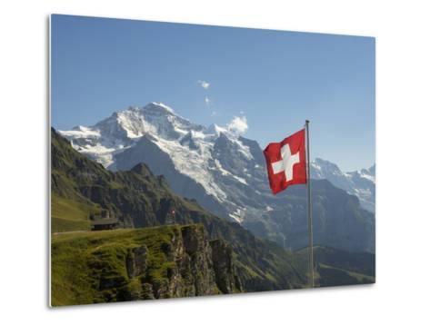 Switzerland, Bern Canton, Mannlichen, the Jungfrau-Jamie And Judy Wild-Metal Print