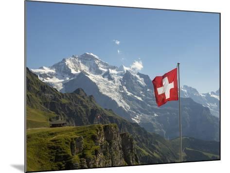 Switzerland, Bern Canton, Mannlichen, the Jungfrau-Jamie And Judy Wild-Mounted Photographic Print