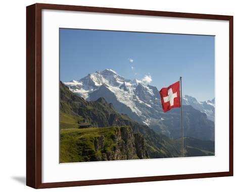Switzerland, Bern Canton, Mannlichen, the Jungfrau-Jamie And Judy Wild-Framed Art Print
