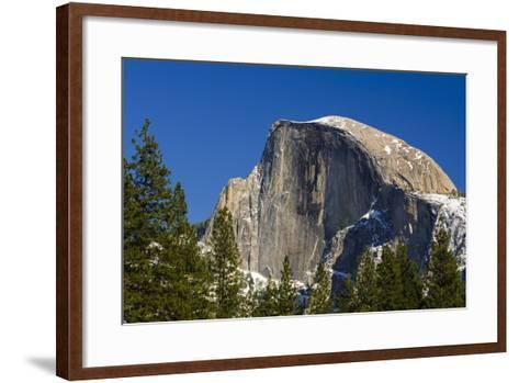 Afternoon Light on Half Dome, California, Usa-Russ Bishop-Framed Art Print