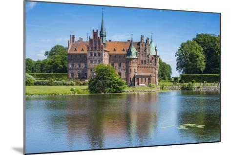 Pond before the Castle Egeskov, Denmark-Michael Runkel-Mounted Photographic Print