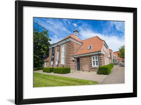 The Museum Ribes Vikinger in Ribe, Jutland, Denmark-Michael Runkel-Framed Art Print
