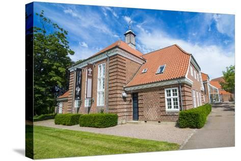 The Museum Ribes Vikinger in Ribe, Jutland, Denmark-Michael Runkel-Stretched Canvas Print