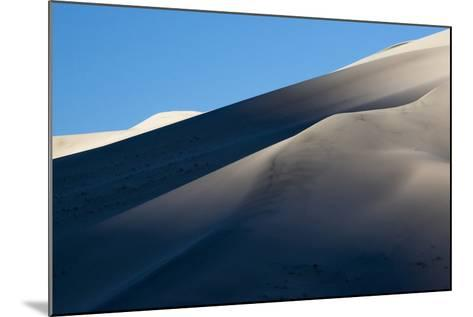 California. Death Valley National Park. Early Morning Light on Eureka Sand Dunes-Judith Zimmerman-Mounted Photographic Print