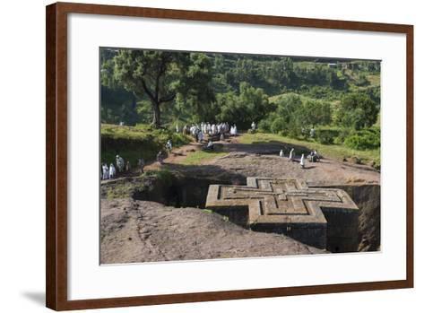 Africa, Ethiopian Highlands, Eastern Amhara, Lalibela, St-Ellen Goff-Framed Art Print