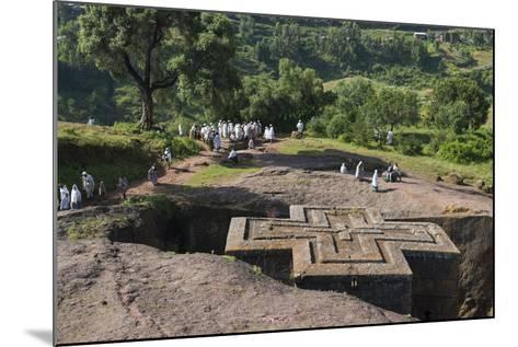 Africa, Ethiopian Highlands, Eastern Amhara, Lalibela, St-Ellen Goff-Mounted Photographic Print