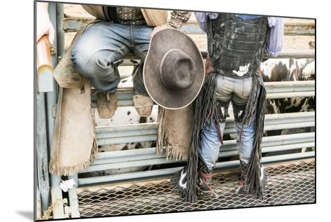 Cowboy Competitor in His Riding Regalia, Taos, New Mexico-Julien McRoberts-Mounted Photographic Print