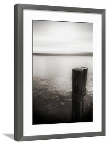 Seattle, View from Alki Beach-Savanah Stewart-Framed Art Print