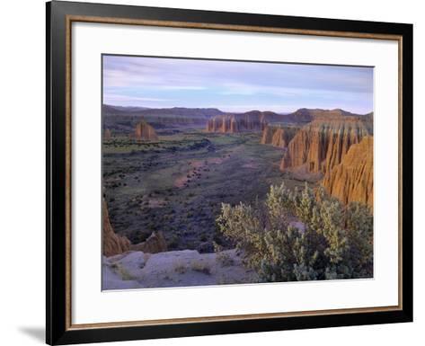 Upper Cathedral Valley, Capitol Reef National Park, Utah-Tim Fitzharris-Framed Art Print