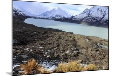 The Beautiful Mueller Glacier Lake at the Head of the Kea Point Track in Mt-Paul Dymond-Mounted Photographic Print