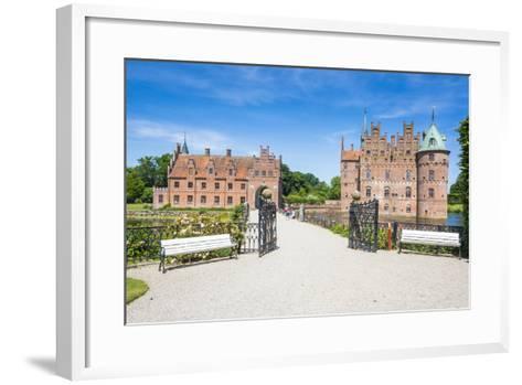 Walkway to Castle Egeskov, Denmark-Michael Runkel-Framed Art Print