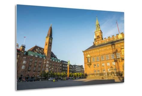 Copenhagen City Hall, Copenhagen, Denmark-Michael Runkel-Metal Print