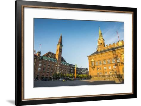 Copenhagen City Hall, Copenhagen, Denmark-Michael Runkel-Framed Art Print