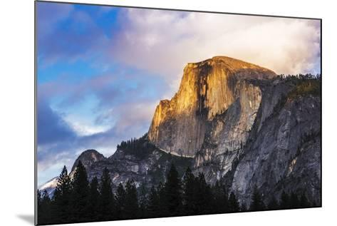 Evening Light on Half Dome, California, Usa-Russ Bishop-Mounted Photographic Print