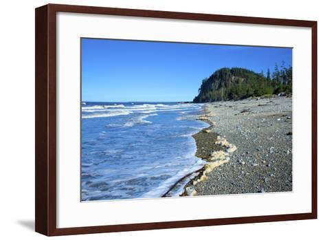 A Popular Spot for Surfing and Kayaking, Haida Gwaii Islands, North Beach, Naikoon Provincial Park-Richard Wright-Framed Art Print