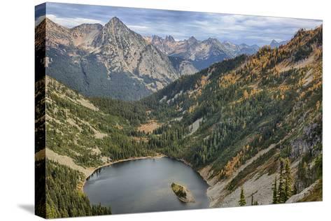 Wa, Wenatchee National Forest, Lake Ann-Jamie And Judy Wild-Stretched Canvas Print