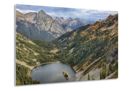 Wa, Wenatchee National Forest, Lake Ann-Jamie And Judy Wild-Metal Print