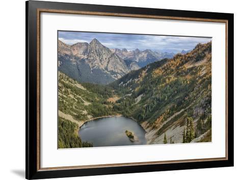 Wa, Wenatchee National Forest, Lake Ann-Jamie And Judy Wild-Framed Art Print