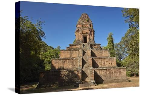 Baksei Chamkrong Temple, Angkor World Heritage Site, Siem Reap, Cambodia-David Wall-Stretched Canvas Print