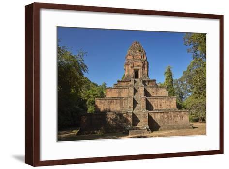 Baksei Chamkrong Temple, Angkor World Heritage Site, Siem Reap, Cambodia-David Wall-Framed Art Print