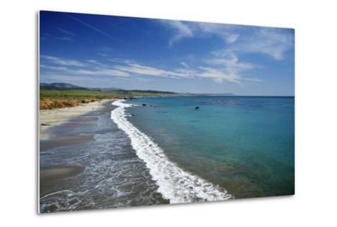 California Central Coast, San Simeon, William Randolph Hearst Memorial Beach-David Wall-Metal Print