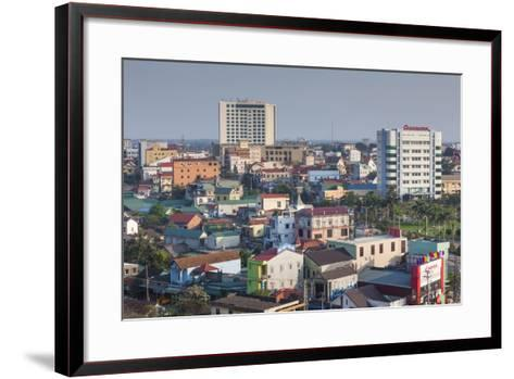 Vietnam, Dmz Area. Dong Ha, Elevated City View-Walter Bibikow-Framed Art Print