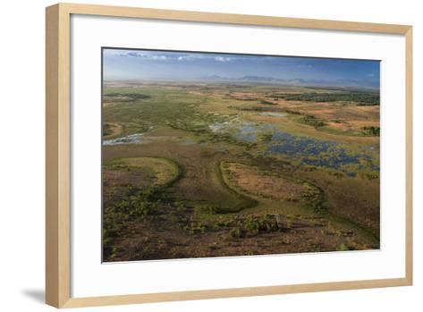 Flooded Savanna Rupununi, Guyana-Pete Oxford-Framed Art Print