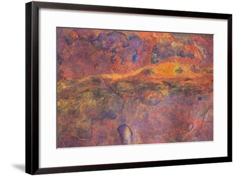 Metal Scrap Found on the Ground in Yoho National Park-Mallorie Ostrowitz-Framed Art Print
