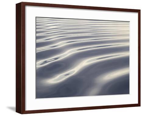 Arctic Ocean, Norway, Svalbard. Ocean Ripple Pattern-Jaynes Gallery-Framed Art Print