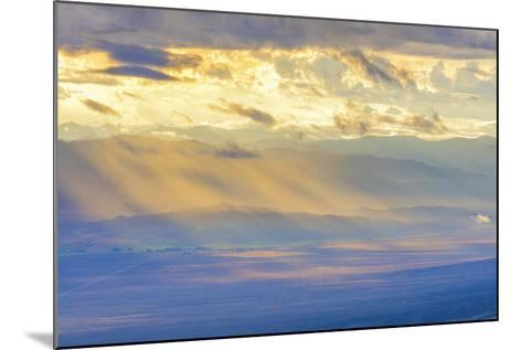 Nevada, Great Basin National Park. Sunlit Overlook-Jaynes Gallery-Mounted Photographic Print