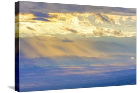 Nevada, Great Basin National Park. Sunlit Overlook-Jaynes Gallery-Stretched Canvas Print